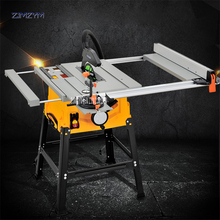 лучшая цена 10 inch Woodworking Table Saw Wood Carving Cutting Machine Circular Blade Working Power Tools Panel Dust-free Machine For Sawing