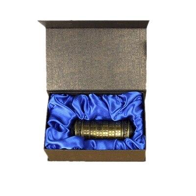 Da Vinci Code Casier D'amusement Saint-Valentin Métal Cryptex serrures cadeau idées Da Vinci Code serrure à marier amant évasion chambre accessoires - 4