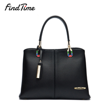 FINDTIME Fashion Women Bag Designer Leather Bags Women Handbag Brand High Quality Ladies Large-capacity Shopping Shoulder Bags