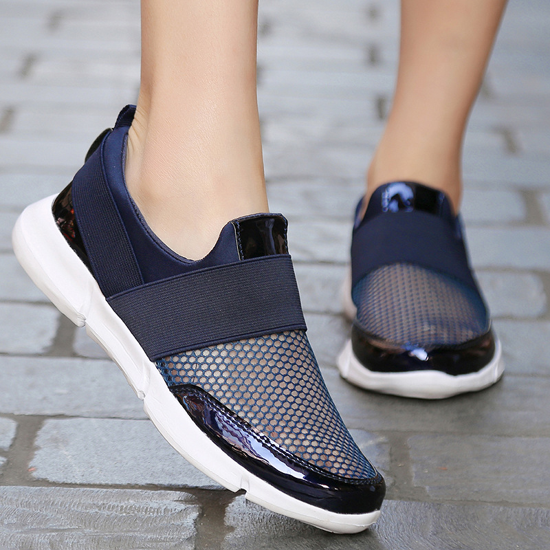 Summer Women sneakers women casual shoes light weight breathable mesh women vulcanize shoes 2018 fashion Chaussure Femme