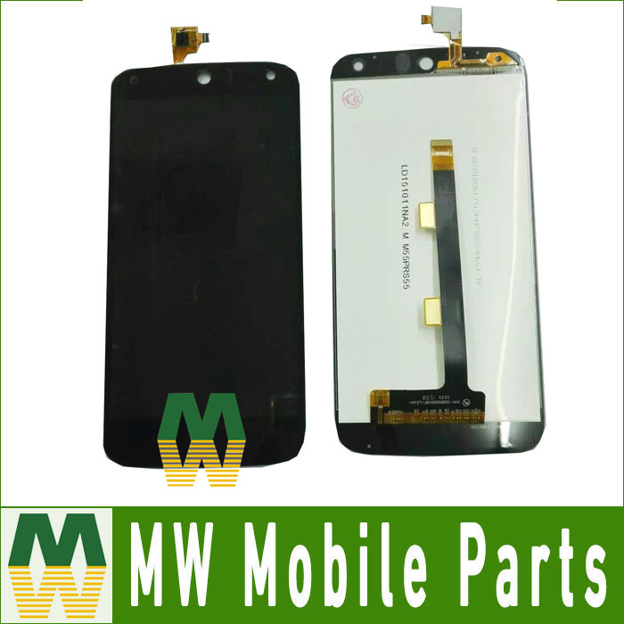 High Quality Black Color 1PC /Lot For Acer Liquid Z630 Z630S LCD Display +Touch Screen Assembly  Free Shipping high quality 5 5 for acer liquid z630