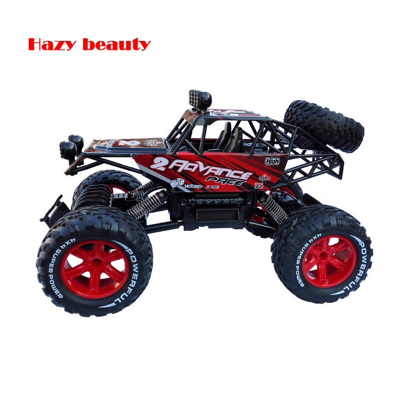 110 large size 24g remote control car rc off road four wheel