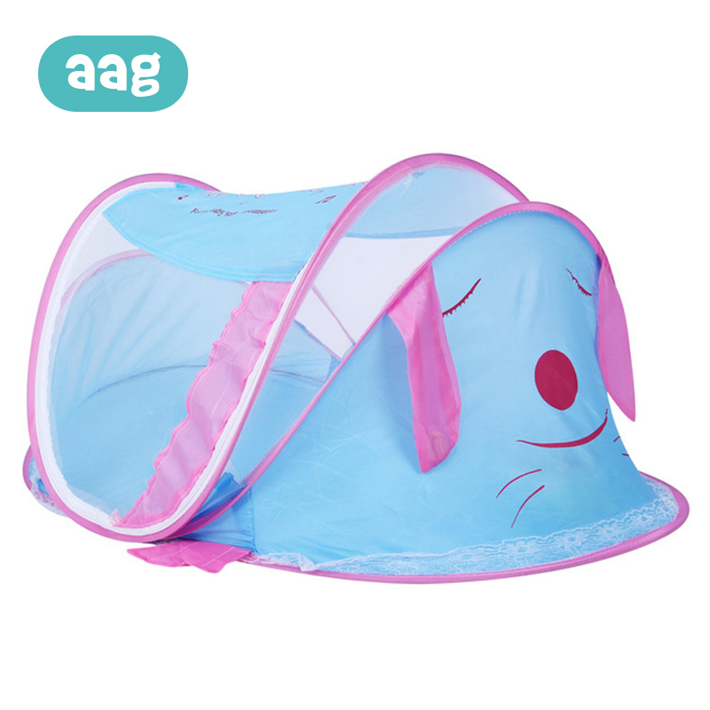AAG Mosquito Net Tent Baby Bedding Crib Netting Folding Free Installation Collapsible Puppy Mosquito Net Yurt 0-3 Y 30