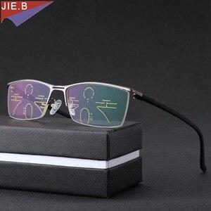 Image 3 - Gafas de sol de transición Multifocal progresiva para hombre, gafas de lectura fotocromáticas de puntos para lector, visión de lejos, novedad de 2019