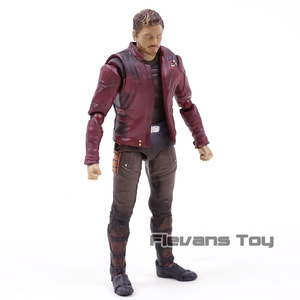 Image 4 - SHF Star Lord  Avengers Infinity War Guardians of Galaxy PVC Action Figure Collectible Model Toy