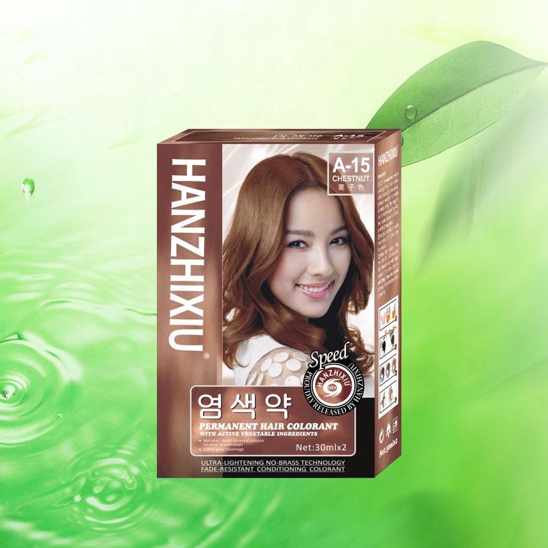Aliexpress.com : Buy Permanet hair dye cream with vegetable ...