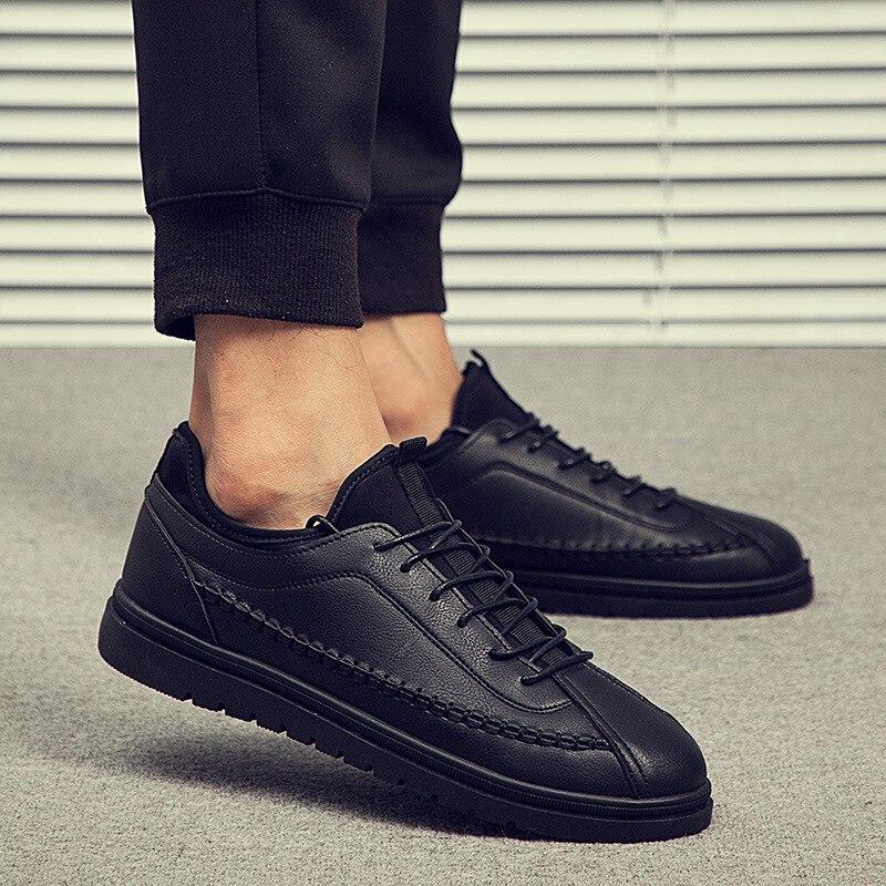 Mężczyźni modne trampki lekkie do chodzenia buty marki na świeżym powietrzu płaskie wygodne buty w Męskie nieformalne buty od Buty na AliExpress - 11.11_Double 11Singles' Day 1