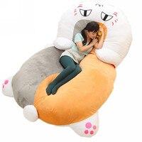 Fancytrader гигантские плюшевые nyanko сенсей Cat диван кровать татами спальный мешок большой подарок новинка 210 см X 150 см FT50671
