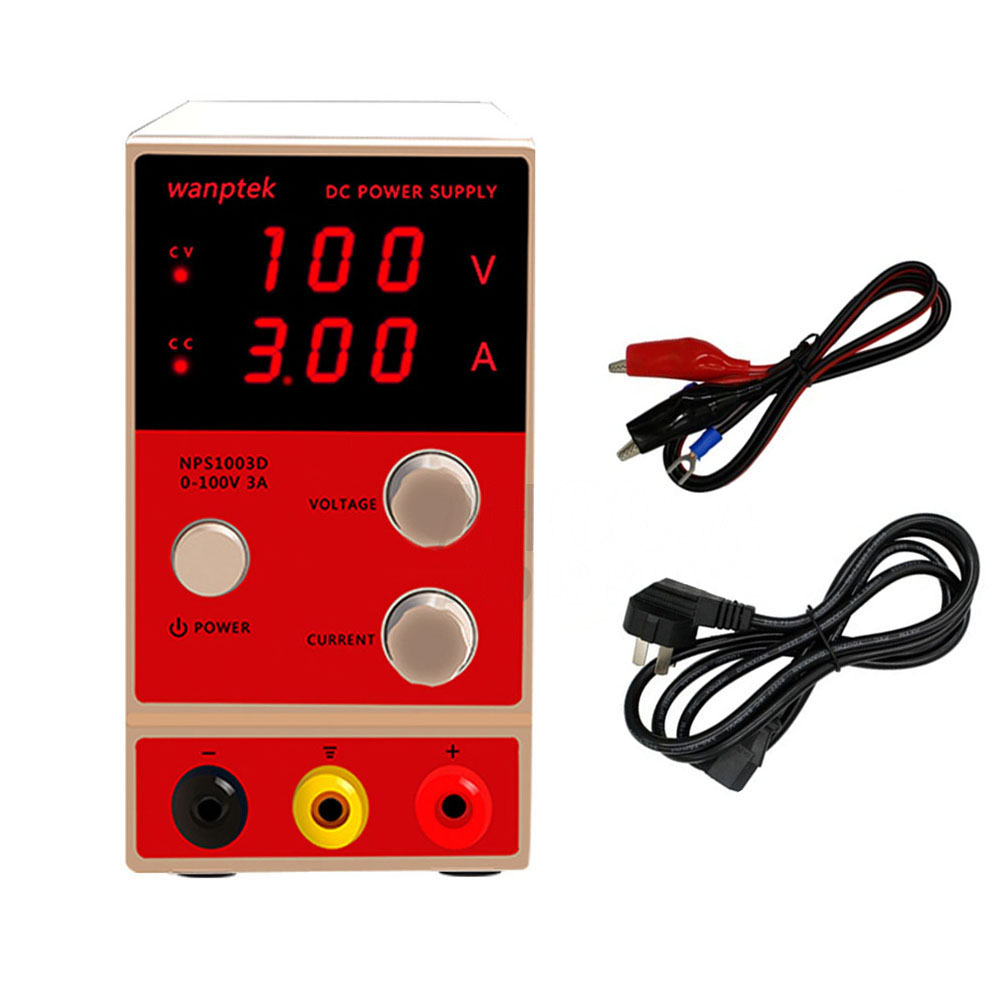 Wanptek mini NPS1003D Adjustable Digital Switching DC Power Supply 100V3A Phone Computer Maintenance Laboratory power supply