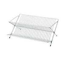 Top stainless steel Collapsible dish rack