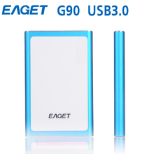 Original EAGET G90 HDD 2.5 Ultra-thin USB 3.0 External Hard Drives Portable Laptop Shockproof Hard Disk High Speed Dropshipping