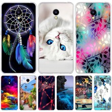 "For Meizu M5C Case Cover Meizu A5 Case 5.0"" Soft Silico"
