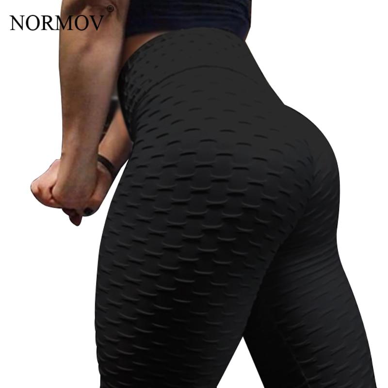 Normov Frauen Push-up-leggings Hohe Taille Klassische Hose Weibliche Workout Leggings Fitness Kleidung Solide Atmungs 6 Farbe Klar Und Unverwechselbar Hosen