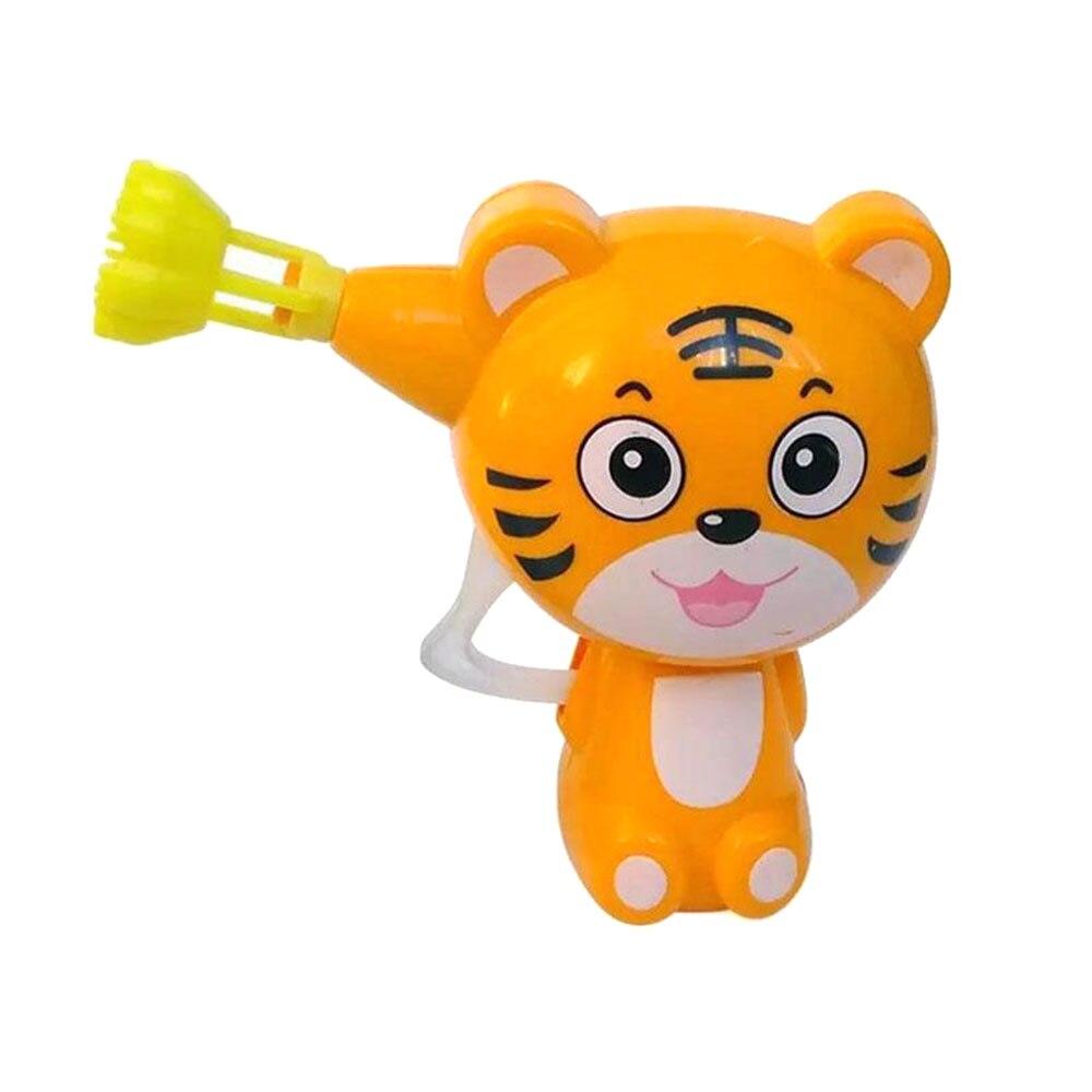 Kids Children Cartoon Animal Soap Bubble Gun Blower Machine Outdoor Toy