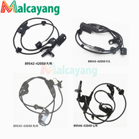 4pcs Lot ABS Wheel Speed Sensor For Toyota RAV4 2 4L 2 5L 3 5L 89546