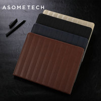 Asometech Luxury Case For Apple IPad Air 12 Retro Stand Pu Leather Tablets Cover For Ipad