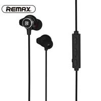 REMAX Sport Running Bluetooth Wireless Headset Magnetic Neckband Earphone CVC Noise Reduce Headphone With HD Mic