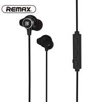 REMAX Sport Running w ucho Słuchawka Bezprzewodowa Bluetooth Z Pałąkiem Na Kark Magnetyczne CVC zmniejszyć Hałas słuchawki z Mic dla iphone