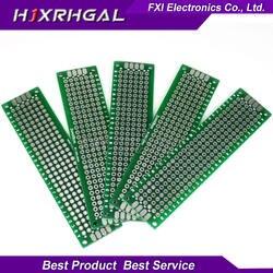 10 шт. 2x8 см 2*8 двухсторонний Прототип PCB diy универсальная печатная плата igmoprrq