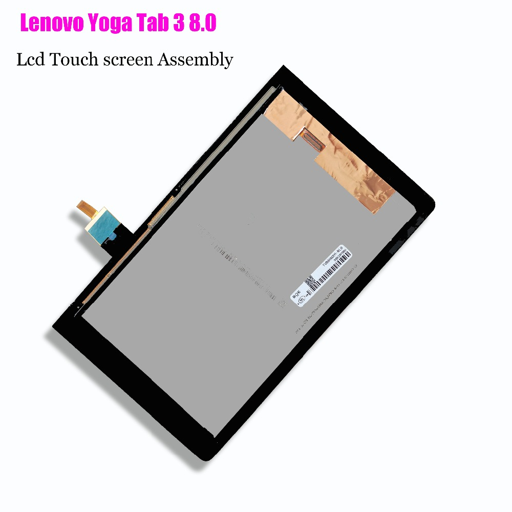 For Lenovo Yoga Tab 3 8.0 YT3-850M YT3-850F YT3-850L LCD Display With Touch Screen Digitizer Assembly Original