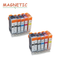 10x Ink Cartridge PGI225 PGI 225 For Canon PIXMA MG6120 MG6220 MG8220 MG8120 MG8120B Printer Full