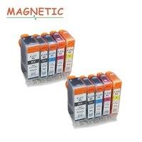 10x Ink Cartridge PGI225 PGI 225 For Canon PIXMA MG6120 MG6220 MG8220 MG8120 MG8120B Printer Full