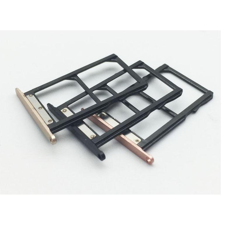 10 Pcs/Lot, New Original SIM Tray Holder Slot For Xiaomi Mi 5C Mi5c Sim Card Reader Holder Tray Slot Socket Adapter