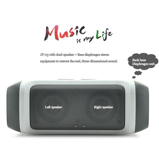 Multifuncional mini wireles fm hifi speaker bluetooth alto-falantes estéreo portátil baixo caixa de som para iphone android telefone