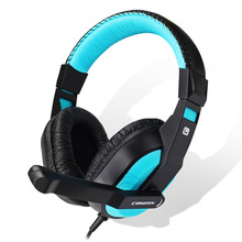 E-sports headset  wired Headset Deep Bass Stereo wired gamer Earphone Microphone for PS4 Laptop mobile phone desktop computer bass earphone computer mobile phone video game headset detachable microphone for playerunknown s battlegrounds gamer headphone