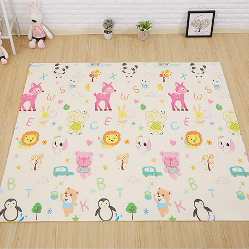 200x180x1 cm épais bébé tapis de jeu éducatif Alphabet jeu enfants tapis Puzzle playfabric activité Gym tapis enfant jouet tapis de sol