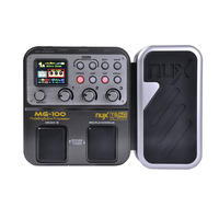 Nux MG 100 Multi Effects Processor Pedal 6 band Graphic EQ Drum Machine Guitar Effects with 58 Effect Models Guitar Parts