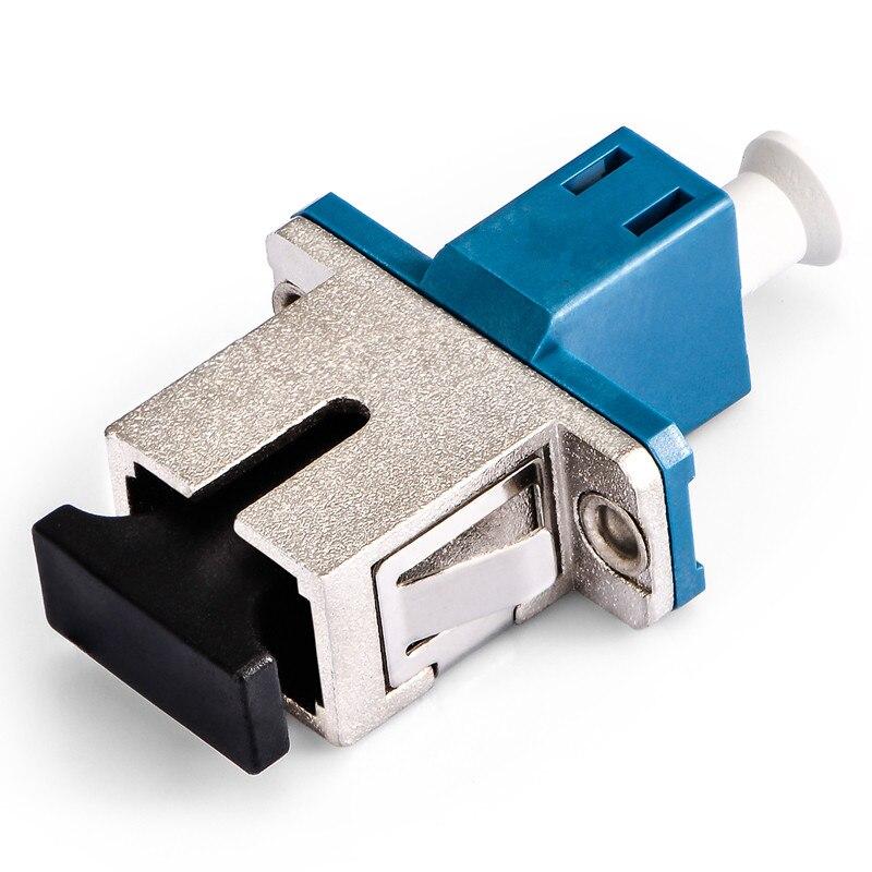 Шт. 1 шт. Оптическое волокно муфта фланец LC-SC конец до конца гибридной вязки адаптер/рукав