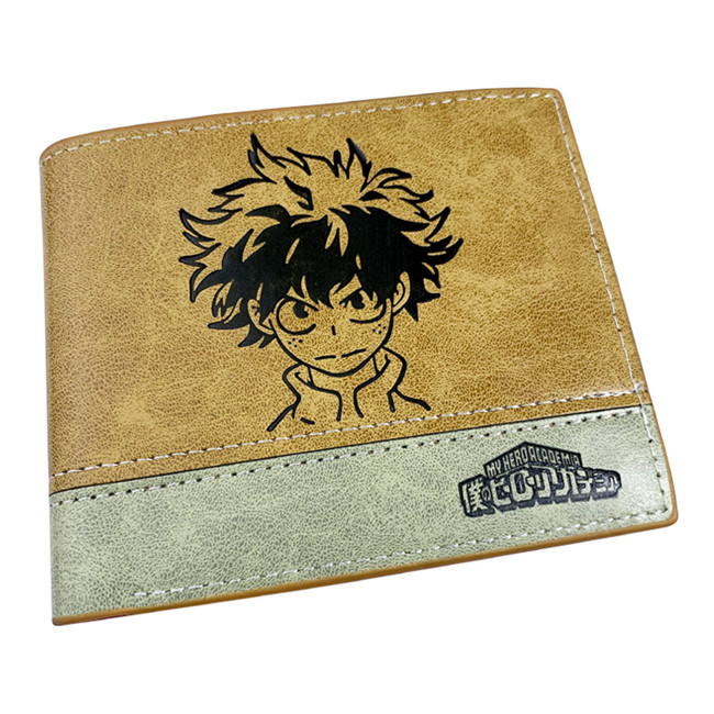 New My Boku No Hero Academia Long Zipper Wallet Bifold Coin Faux Leather Purse