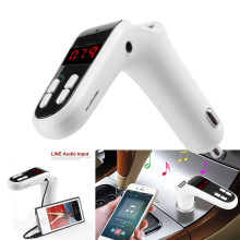 MP3 Player Bluetooth FM Transmitter Bluetooth Car Kit Handsfree FM Transmitter Radio MP3 Player USB Charger& AUX USB Charging