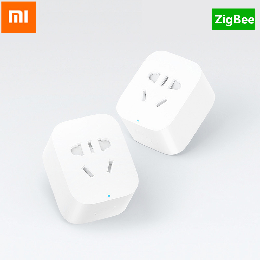 5pcs Original Xiaomi Zigbee Smart Socket Plug Wifi Remote Control Timer Charger