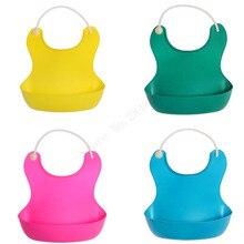 Baby bibs waterproof Lunch Bibs Boys Girls Infants silicone feeding baby saliva towel cartoon waterproof aprons