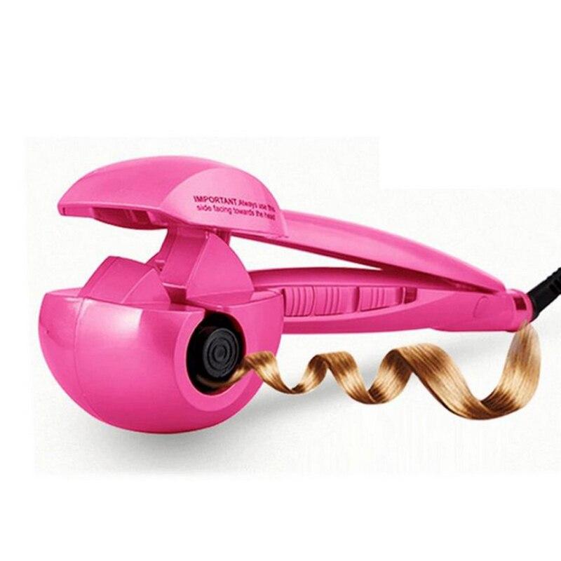 110-240 V Spray de Vapor curlers Modelador de Cabelo Automático modelador de cabelo Digitais cuidados com os cabelos styling Tools cabelo curling ferro quente DOS EUA e DA UE plugue
