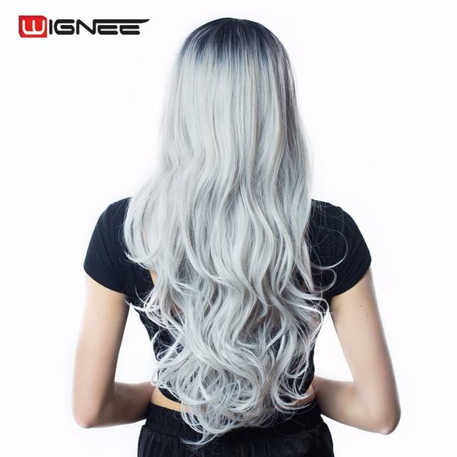 Ombre Grey Cosplay Wig