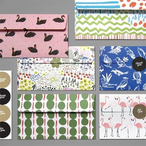 Papierumschläge 7 Teile/satz Flamingo Umschlag Mit Aufkleber Etiketten Kawaii Schwan Brief Schreiben Vintage Für Hochzeit Brief Einladung Geld Umschlag