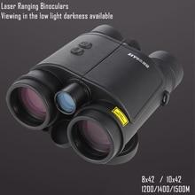Laser Ranging Binoculars 8/10x42 Magnification HD Imaging Distance Measurer for Hunting Optics Range Finder Binocular Telescope цена и фото