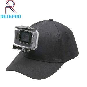 Ruigpro бейсбольная Солнечная шапочка с креплением на пряжке для камеры GoPro
