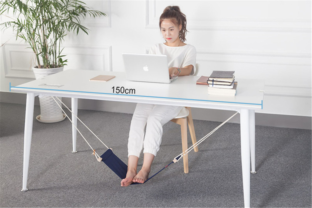 Soyi - Adjustable Mini Footrest Stand Home Office Desk Feet Hammocks Portable Travel Accessories Plane Train for Recreation