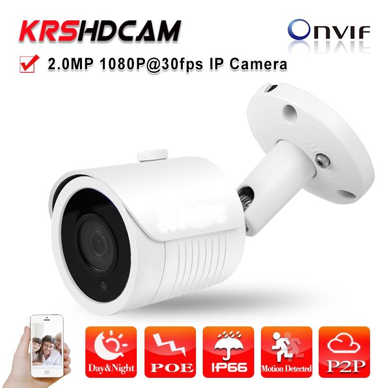 Outdoor ip camera 1080P POE ONVIF2.4 SONY IMX290 waterproof indoor/outdoor P2P CCTV 24IR Night Vision cameras de seguranca