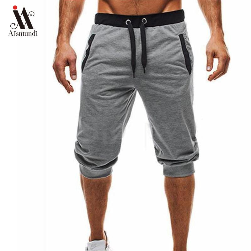 Mens Shorts Summer Casual Fitness Shorts Joggers Fashion Men Plus Size 3XL Trousers Sweatpants Short Homme Clothes  2019