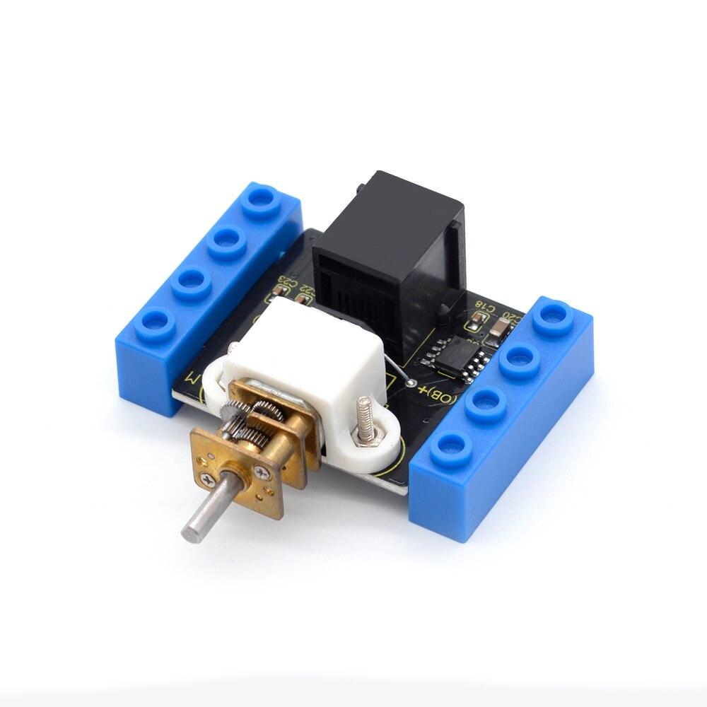 Image 3 - Kidsbits блоки кодирования N20 моторный модуль для Arduino пара EDU (черный и экологически чистый)-in Доски для показов from Компьютер и офис on AliExpress - 11.11_Double 11_Singles' Day