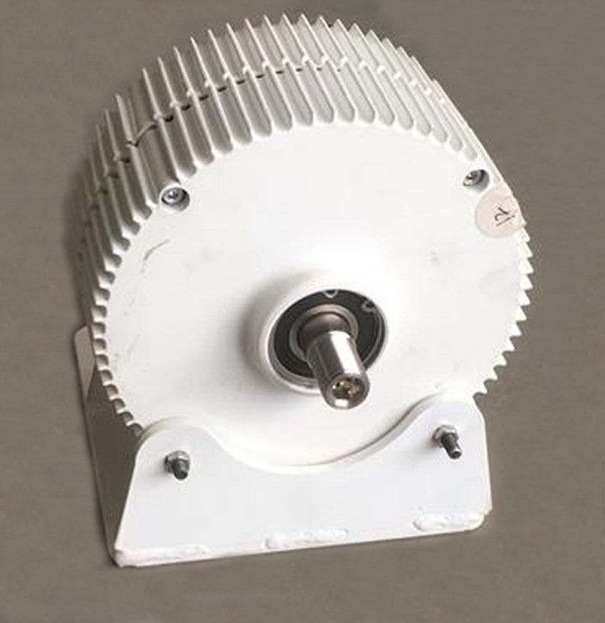 2018 nueva llegada baja velocidad de rotación 300 W 400 W 12 V/24 V/48 V de salida permanente generador magnético turbina de viento alternador baja RPM PMG