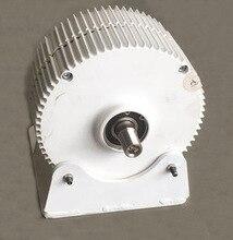 Nuovo Arrivo Basso la Velocità di Rotazione di 300W 400W 12V/24V/48V di Uscita A Magnete Permanente generatore di Vento Turbina Alternatore A Basso NUMERO di GIRI PMG