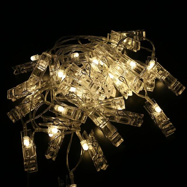 4m clip string lights battery operated indoor decorative 30 led 4m clip string lights battery operated indoor decorative 30 led light ropes and strings for hanging mozeypictures Choice Image