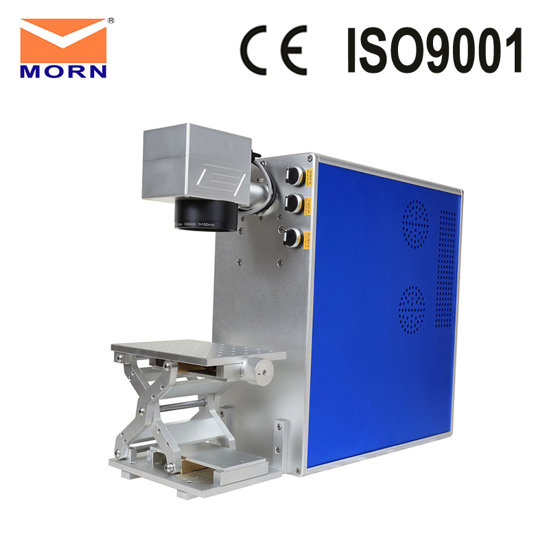 30W Mini Portable Personal Item Name Engraving Fiber Laser Marking Machine
