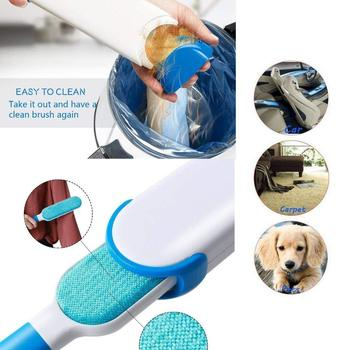 Pet Hair Remover Brush For Dogs & Cats